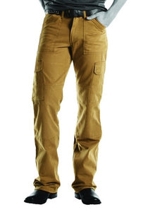 Drayko Jean Men's Cargo Reinforced Street Motorcycle Riding Pants Khaki Size 34