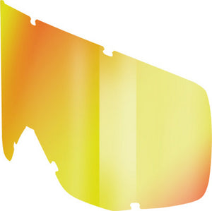 Scott Hustle, Tyrant & Split Goggle Replacement Works Thermal Lens Yellow Chrome