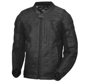 Roland Sands Sonoma Black Premium Leather Motorcycle Riding Jacket Men's X-Large