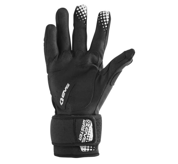 EVS Wrister Wrist Support MX Motocross Motorcycle Riding Glove Black Large