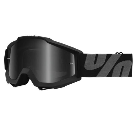 100% Accuri Sand Over The Glasses UTV Offroad Riding Goggle Superstition Black
