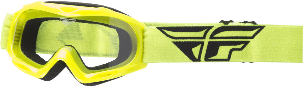 2018 Fly Racing Focus Youth Kid's MX Motocross Offroad Dirt Bike Goggle Hi-Vis