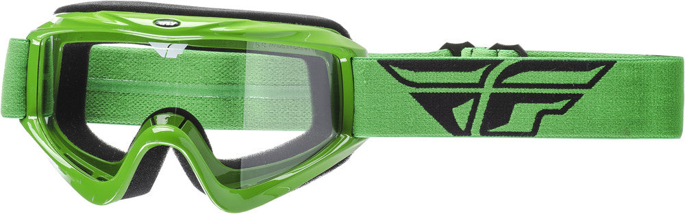 2018 Fly Racing Focus Adult ATV MX Motocross Offroad Dirt Bike Goggle Green