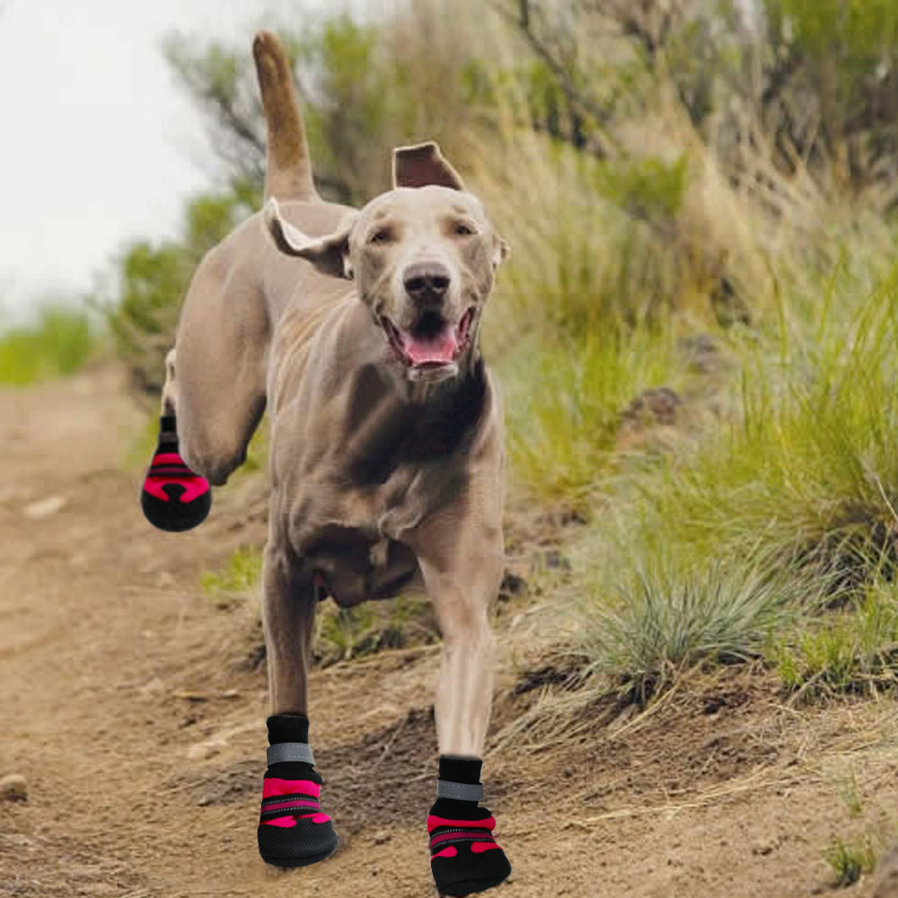 Ultra Paws Durable Dog Boots - Trendy Emotions