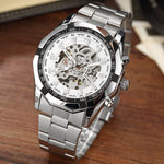 ★ Trendy★ Skeleton Automatic Mechanical Watch