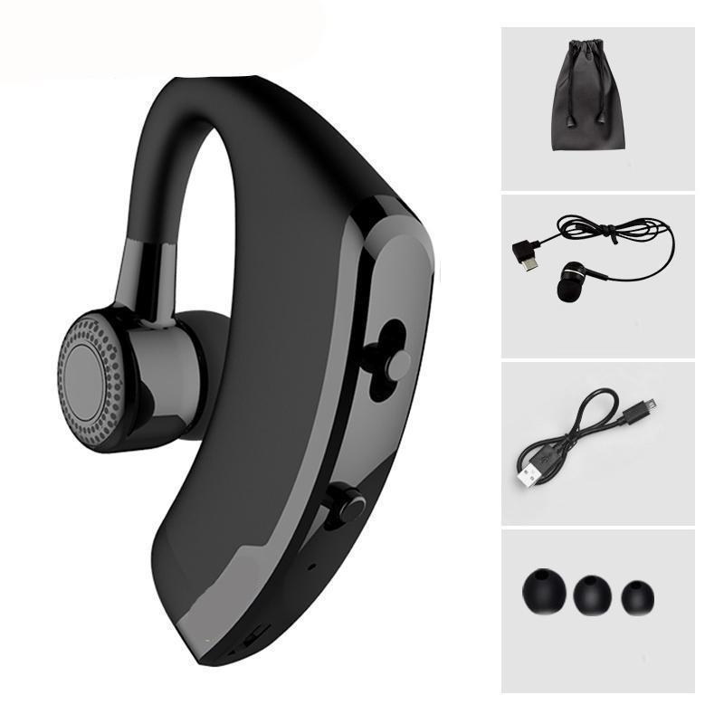 Wireless Business Bluetooth Headset Earphone With Voice Control