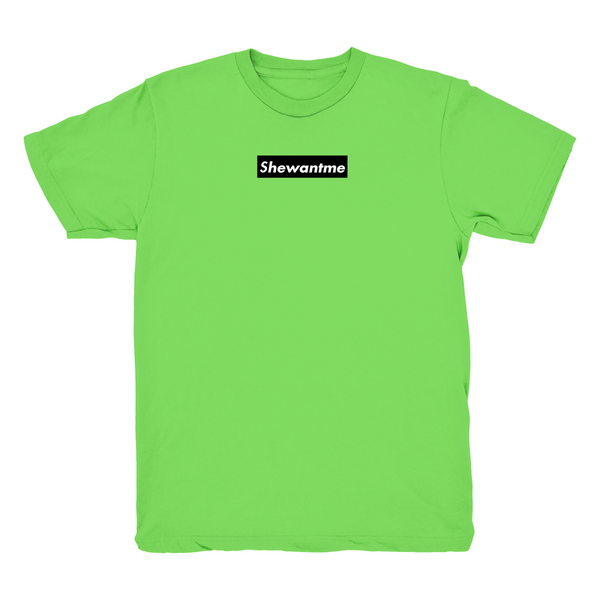 Shewantme Lime green T Shirt