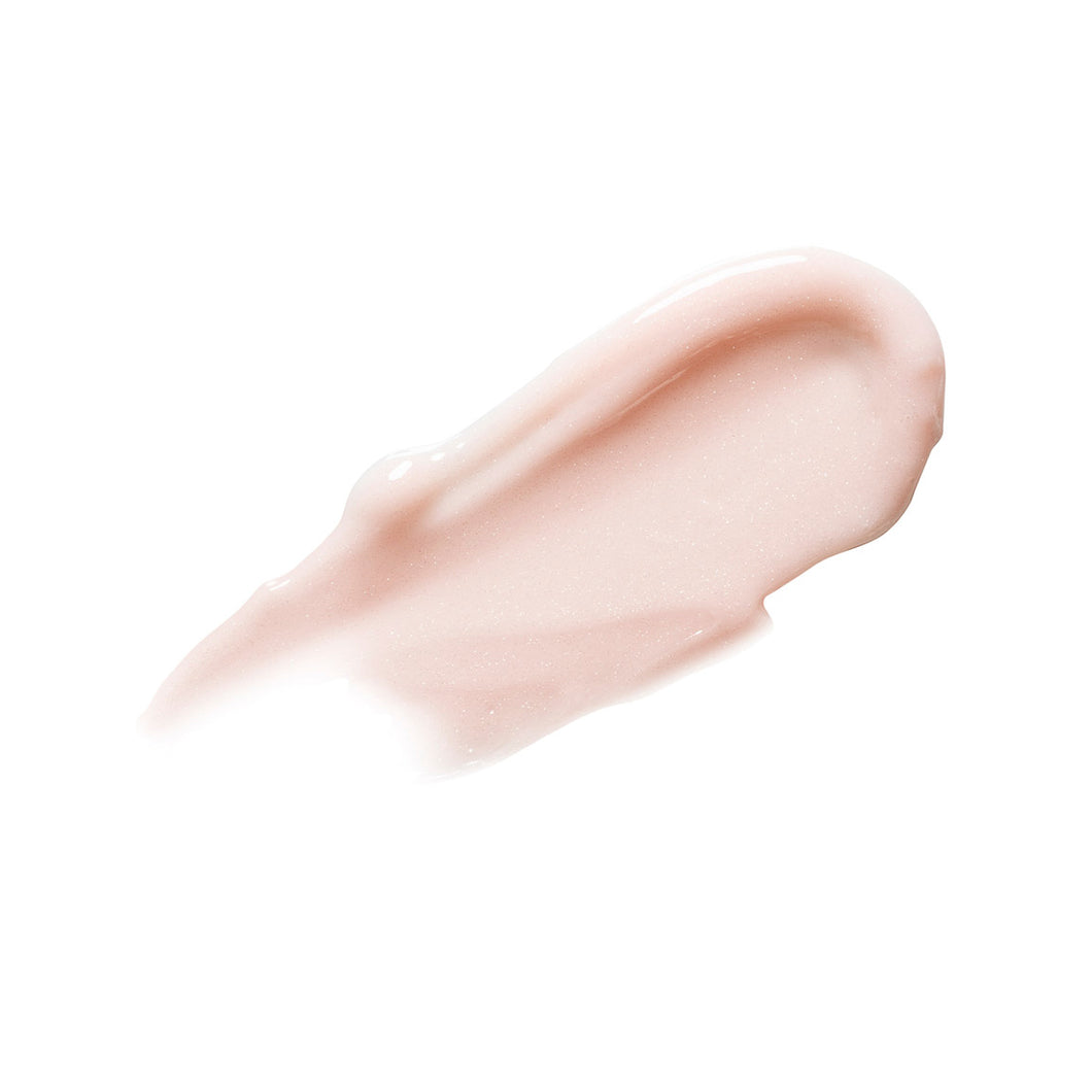 The lip slip one luxe balm swatch. This is the ultimate long lasting luxurious lip balm with subtle shimmer made with jojoba oil, sweet almond oil.