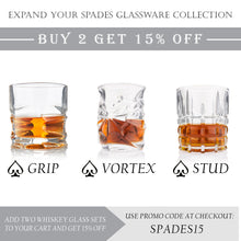 Stud Whiskey Glass