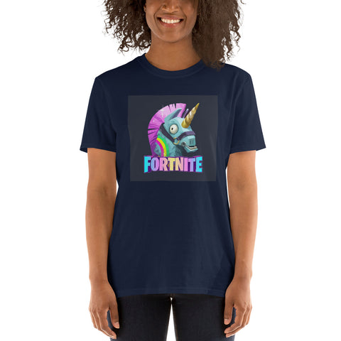 Fortnite Unicorn Womens Gamer T Shirt - TimeForClothes