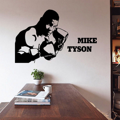 Mike Tyson Boxing Legend Removable Wall Sticker Art Decal - TimeForClothes