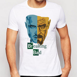 Breaking Bad Short Sleeve Mens T Shirt - TimeForClothes