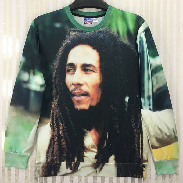 Bob Marley 3D Printed Sweater For Men & Women - TimeForClothes