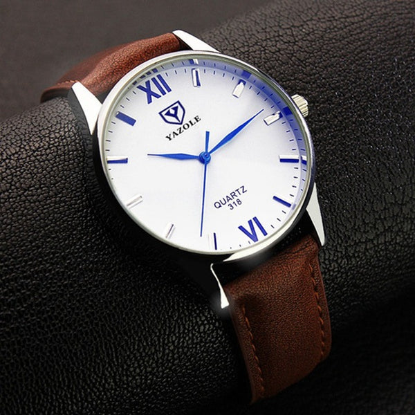 High Quality Stylish Mens Strap Wrist Watch - TimeForClothes