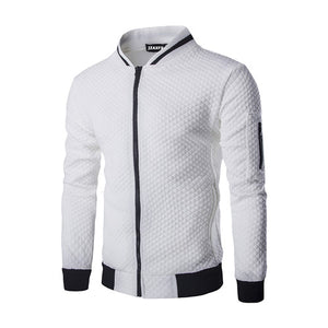 Mens Forever™ Quilted Zipper Designer Premium Jacket - TimeForClothes