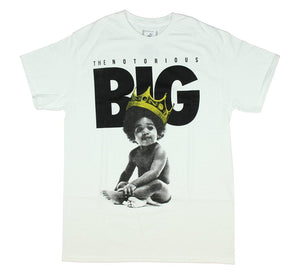 Notorious BIG Baby Biggie Mens T-Shirt - TimeForClothes