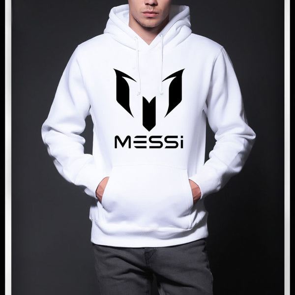 High Quality Warm Messi Football Fan Hoodie For Men - TimeForClothes
