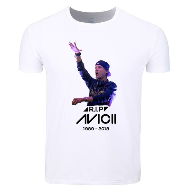 Rip Avicii Tribute Remembrance Mens T shirt - TimeForClothes