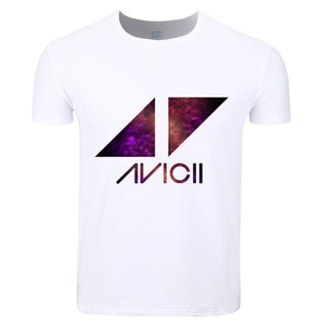 Avicii Colorful Artist Design Mens T shirt - TimeForClothes