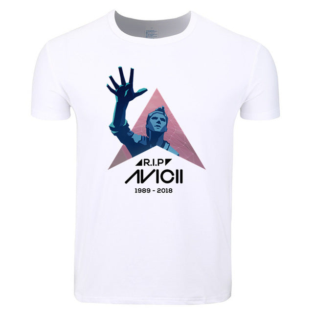 Rip Avicii Colorful Mens T Shirt - TimeForClothes