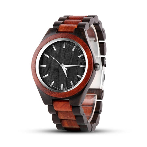 Men's Elegant Wood Watch
