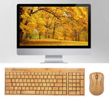 Wooden Keyboard and Mouse Combo - The Wud Shop