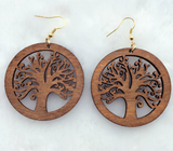 Tree of Life Earrings - The Wud Shop