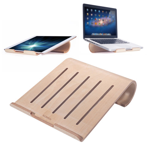 Universal Wooden Laptop Cooling Pad/Dock - The Wud Shop