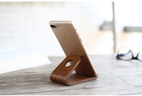 Universal Wooden Phone Stand - The Wud Shop