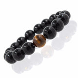 Tiger's Eye Black Onyx Beads - The Wud Shop
