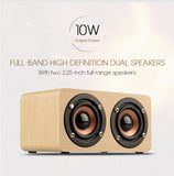 Natural Wood Bluetooth Speaker