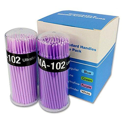 Microfiber Brushes (100 p/tube)
