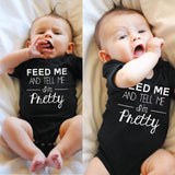 Newborn Infant Bodysuits for Baby Boys and Girls