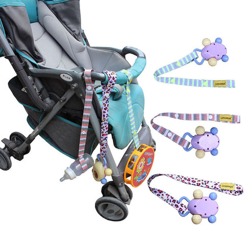 Fixed Toys Rope No Drop Baby Bottle Toy Sippy Cup Holder Strap For StrollerColor Random