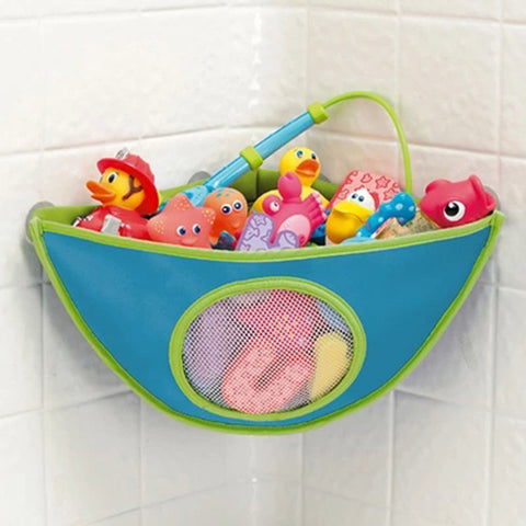 Baby care Home decoration organizer Baby Kids Bath Tub Waterproof Toy Hanging Storage Bag