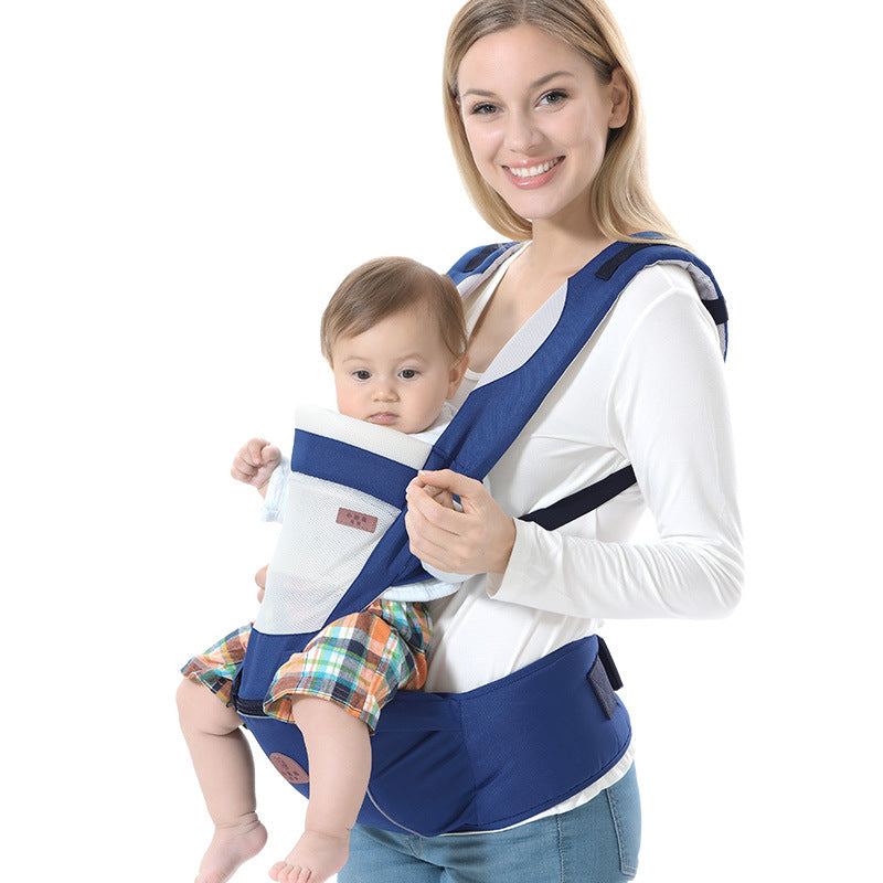 3-36 M Multifunctional Baby Carrier Breathable Cotton Net Baby Sling Kangaroos Baby Wrap