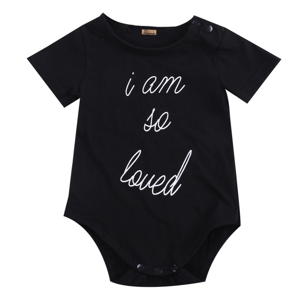'I am so loved' Newborn Onesie