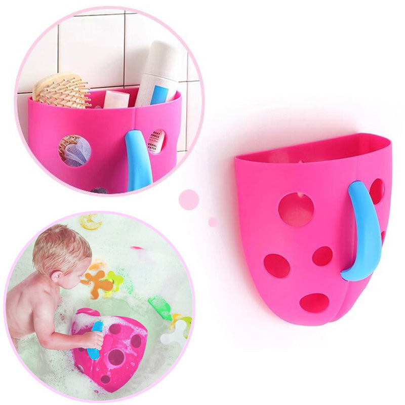 Bath Hanging Toy Organizer Storage Bin for Toddler & Baby Toys