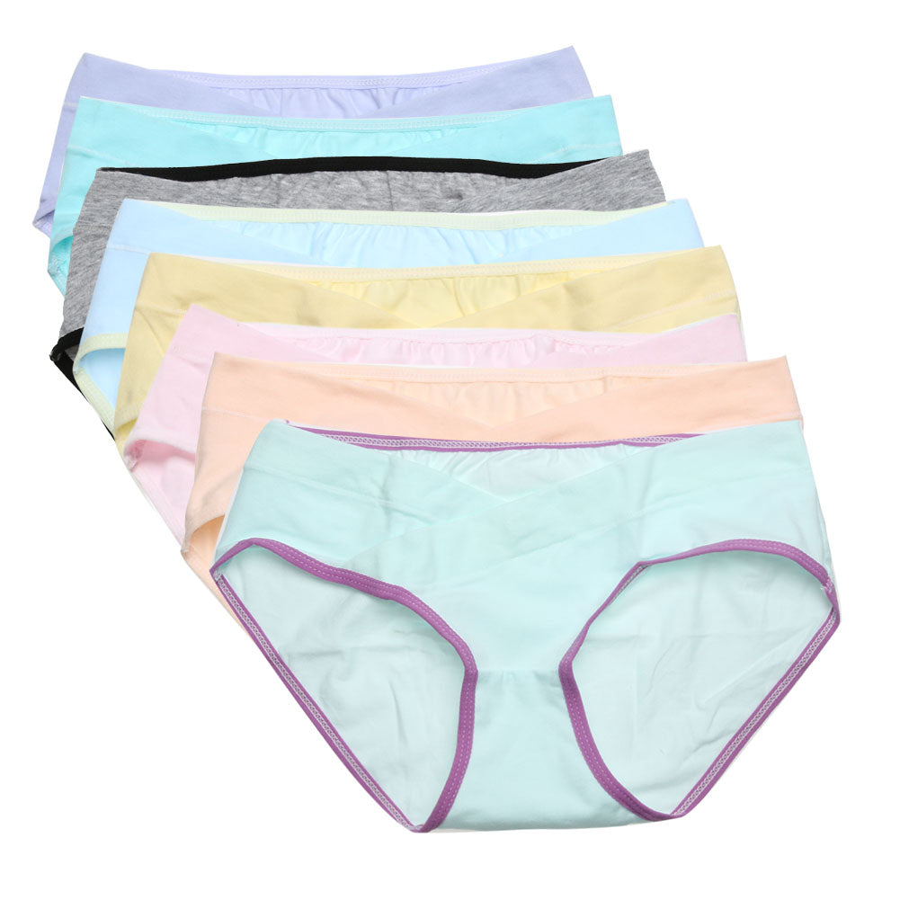 Soft Cotton Pregnant Women Underpants Panties Breathable Belly Support Panties Intimates Briefs