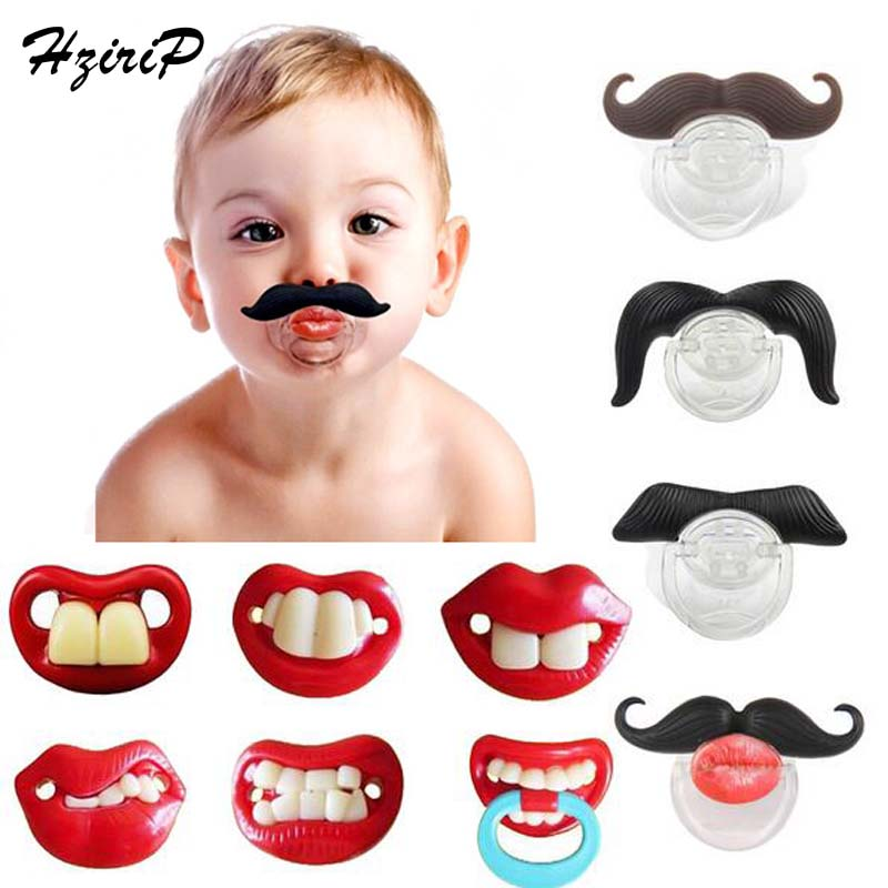 Baby Pacifier Joke Prank Toddler Orthodontic Nipples Teether Care Christmas