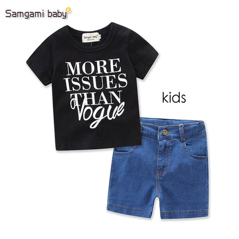 Parent-child suit Mother Daughter clothing Summer Family Matching Clothes T-shirt Top+Shorts Fashion Leisure Style girls of mom
