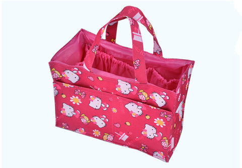 Mommy Diaper Bag Waterproof Nappy Bags Storage Multifunction Maternity Travel Bag Hello Kitty