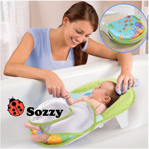 Bath Sling With Warming Wings Foldable Bath Net Bath Towels With A Bath Chair