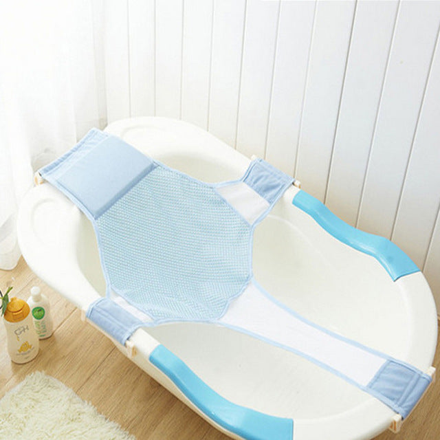 Bath Net Cross-shaped Adjustable Bath Seat Bathtub Safety Security Seat Support Infant Shower