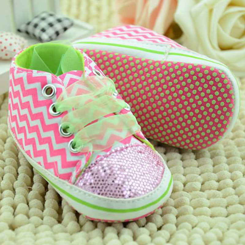 Baby Shoes Infant Toddler Shoes For Newborn Girl Kids Sports Sneakers Soft Bottom Anti-slip