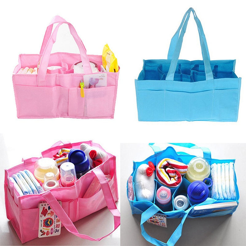 Mummy Bag Bottle Storage Multifunctional Bag, Maternity Handbag Baby Tote Diaper Organizer