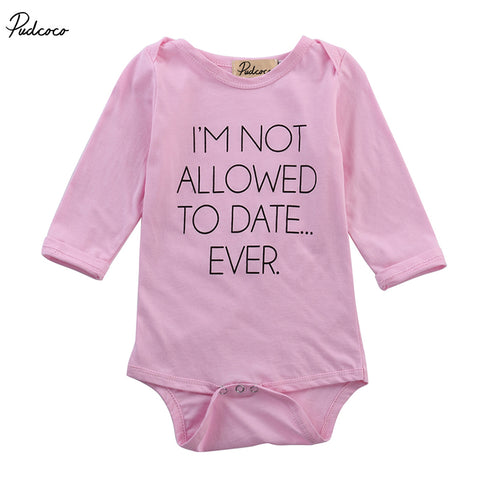 Newborn Baby Girls Pink Bodysuit Clothes Infant Girl Cute Bear Long Sleeve Bodysuits Outfits