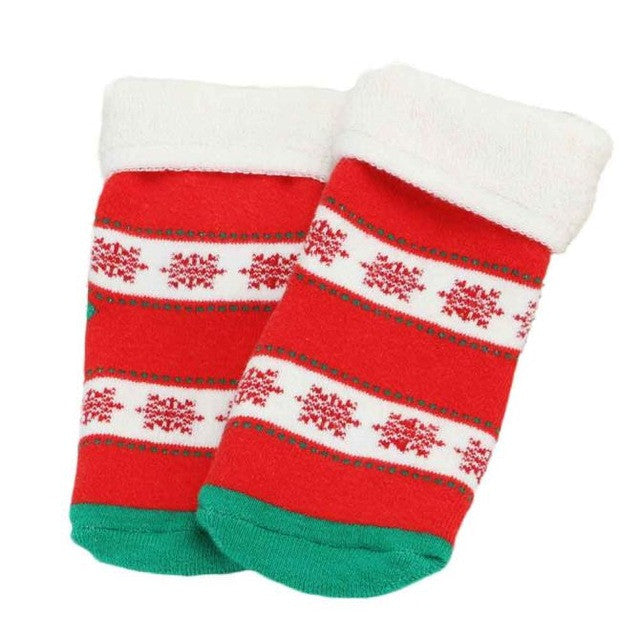 Christmas Anti-slip Soft Cotton Blend Socks