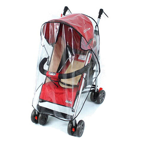 Baby Stroller Cover Universal Waterproof Rain Dust Wind Shield Stroller Accessories Buggys