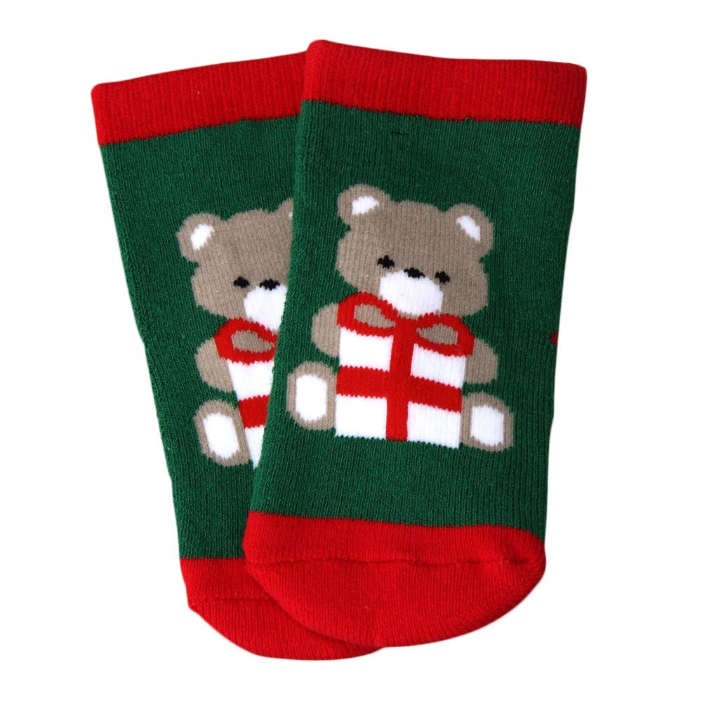 Cotton baby boy girl socks for Christmas winter child socks for Xmas children kids Christmas